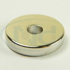 15x4x3 mm N48 Ímã Neodímio Anel