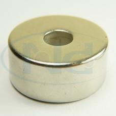 22x6,35x10 mm N42 Ímã Neodímio Anel