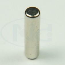 2,5x10 mm N35 Ímã Neodímio Bastão ou Cilindro