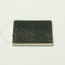 10x10x0,5 mm N35 Ímã Neodímio Bloco