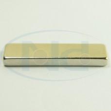 25x7x2,5 mm N42 Ímã Neodímio Bloco