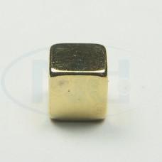 5x5x5 mm N50 Gold Ímã Neodímio Cubo