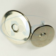 Fecho Magnético Modelo 03 Prateado