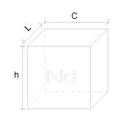 Dimensões Cubo